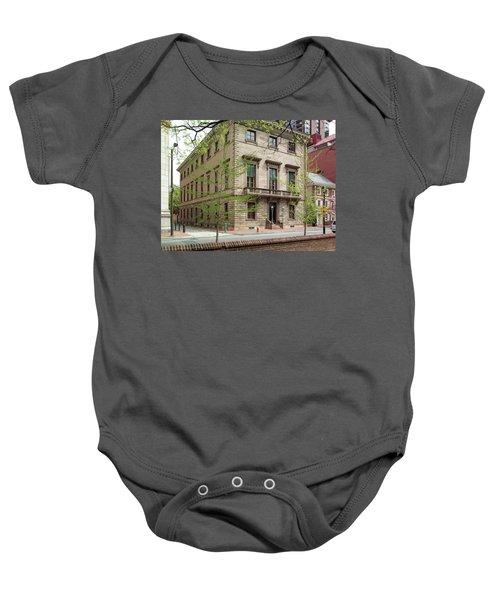 Athenaeum Exterior Baby Onesie