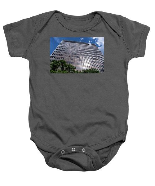 Augusta University Building 1 Baby Onesie