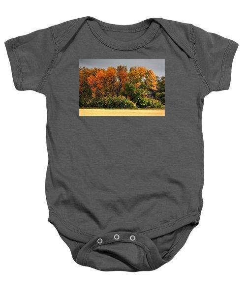 Autumn Is Nigh  Baby Onesie