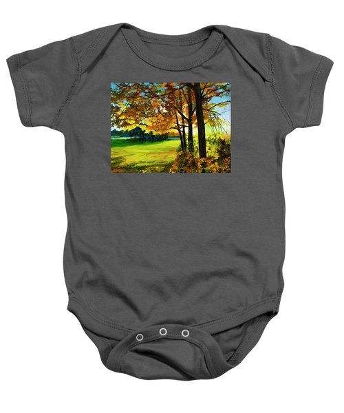 The Sun Will Rise With Healing In His Wings Baby Onesie