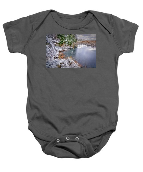 Autumn To Winter Baby Onesie
