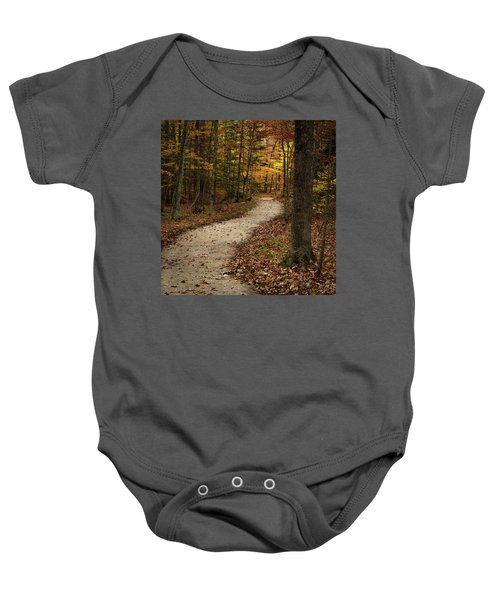 Autumn Trail Baby Onesie
