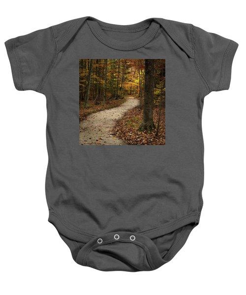 Autumn Trail Baby Onesie