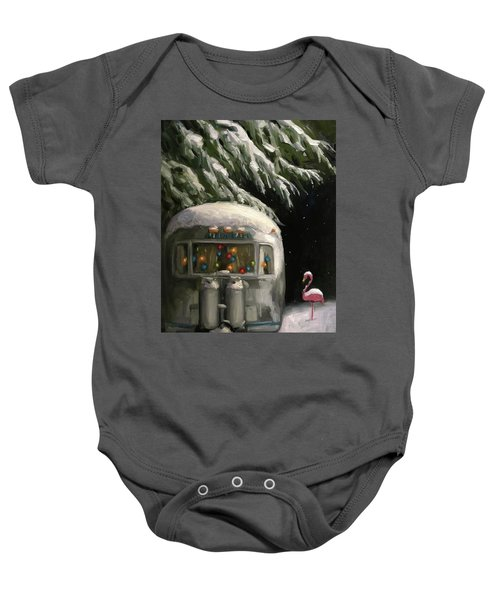 Baby, It's Cold Outside Baby Onesie