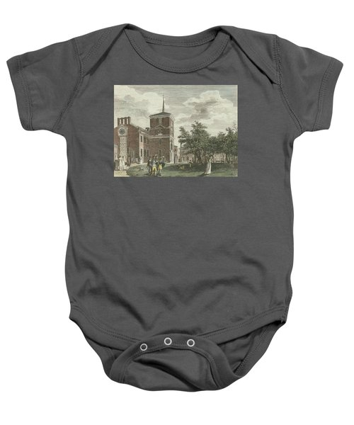 Back Of State House Baby Onesie