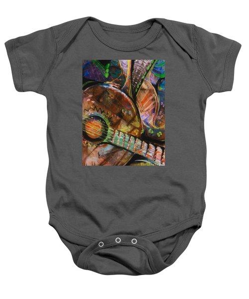 Banjos Jamming Baby Onesie