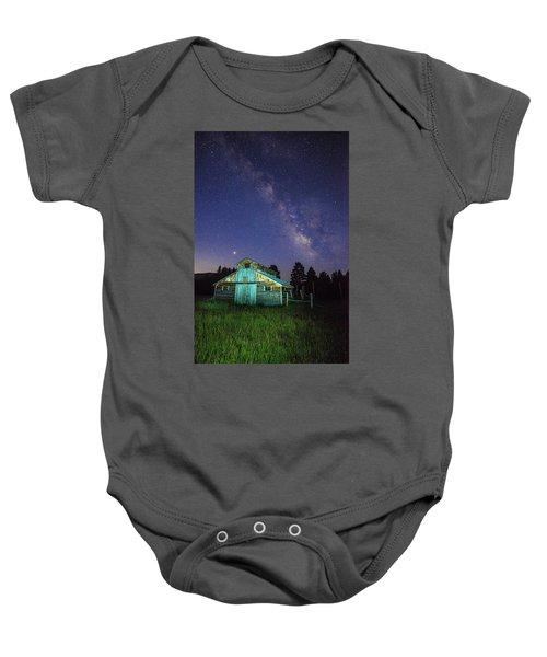 Barn In Rocky 2 Baby Onesie