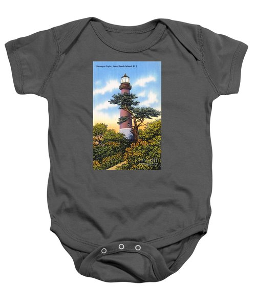 Barnegat Light - With Text Baby Onesie