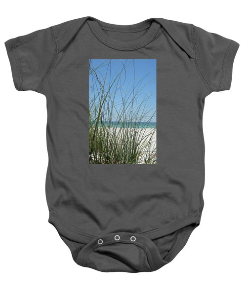 Beach View Baby Onesie