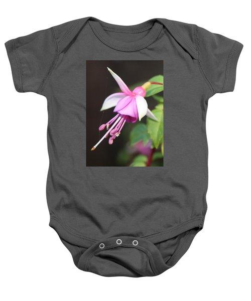 Beautiful Fuchsia Baby Onesie