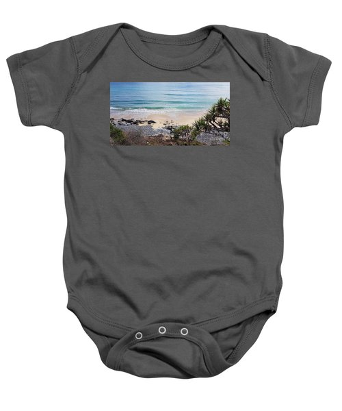 Beautiful Noosa Beach  Baby Onesie