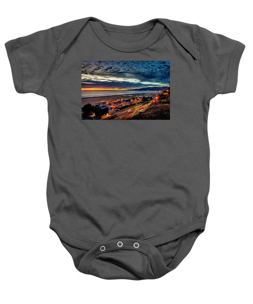 Beautiful Sky After The Storm Baby Onesie