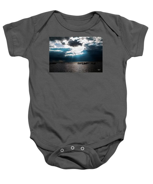 Beginning Of The End Of The Day Baby Onesie