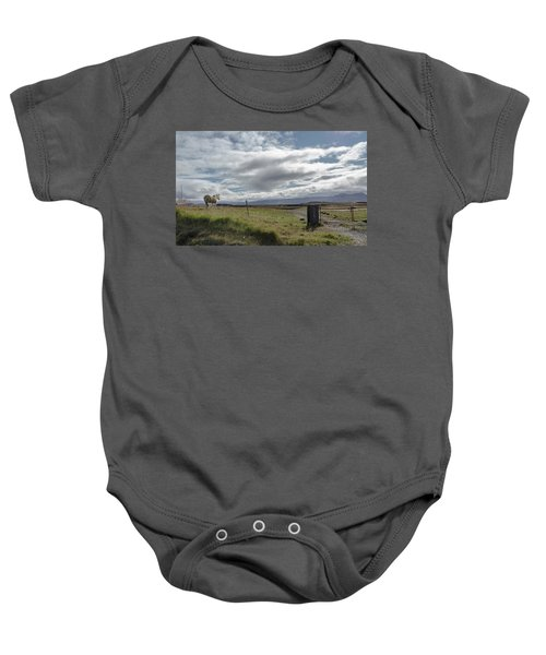 Behold A Pale  Horse Baby Onesie