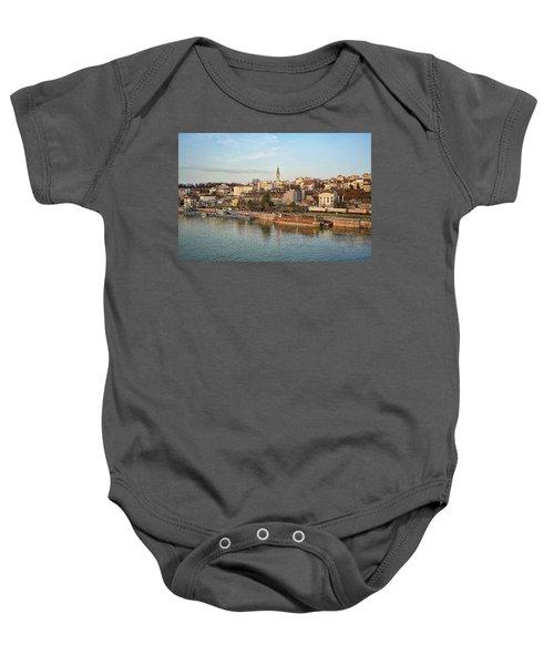 Belgrade Cityscape Baby Onesie