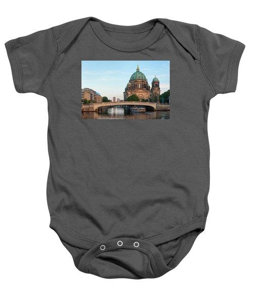 Berliner Dom And River Spree In Berlin Baby Onesie
