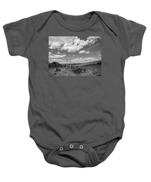 Beyond Here The Chair Project Baby Onesie