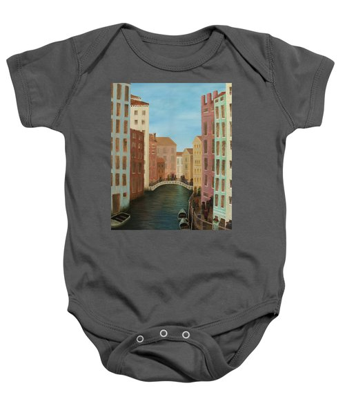 Beyond The Grand Canal Baby Onesie