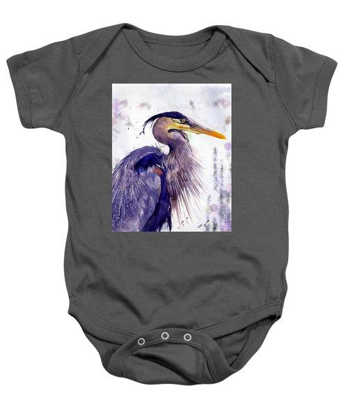 Blue Heron Baby Onesie