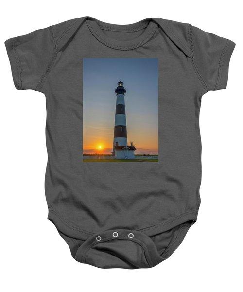 Bodie Island, Sunrise, Obx Baby Onesie