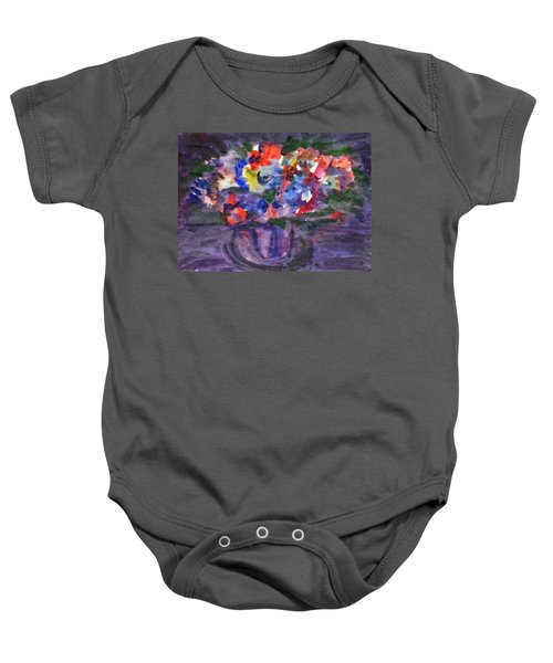Bouquet In The Dark Baby Onesie