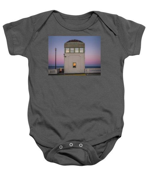 Bridge Tender's Tower Baby Onesie