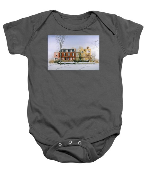 Broom Street Snow Baby Onesie