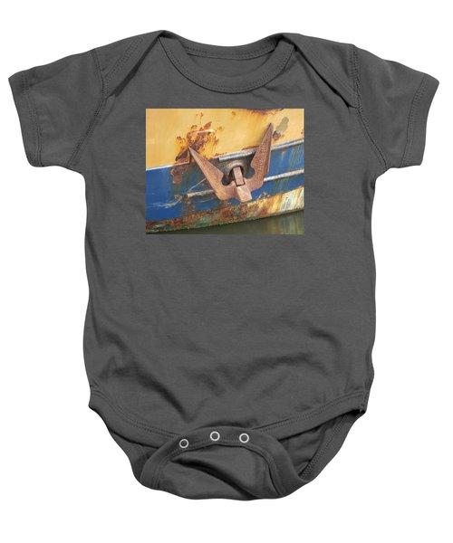 Bucket Of Bolts Baby Onesie