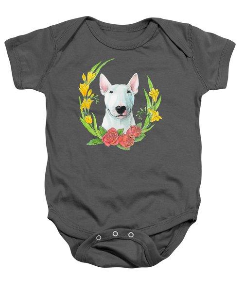 Bull Terrier Ivan Baby Onesie