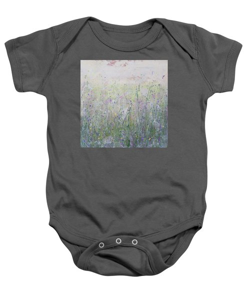 Buttercups And Bluebells Baby Onesie