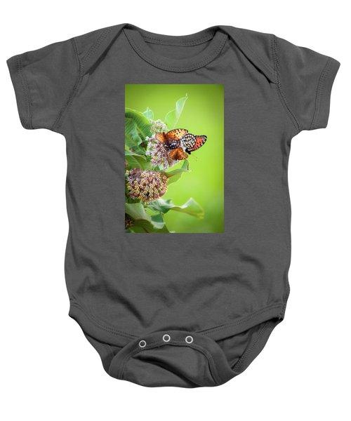 Butterfly Buffet II Baby Onesie
