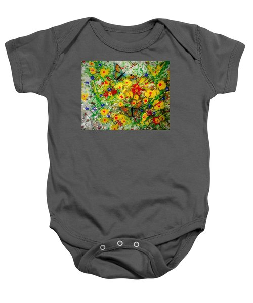 Butterfly Delight Baby Onesie
