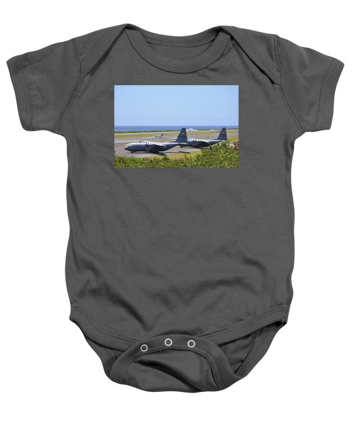 C130h At Rest Baby Onesie