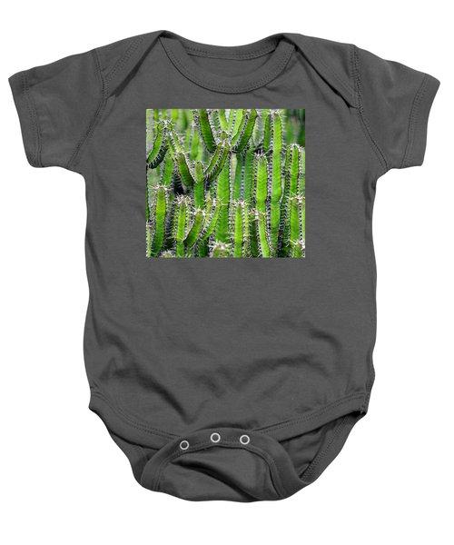 Cacti Wall Baby Onesie