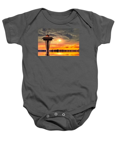 Calm After The Storm Baby Onesie