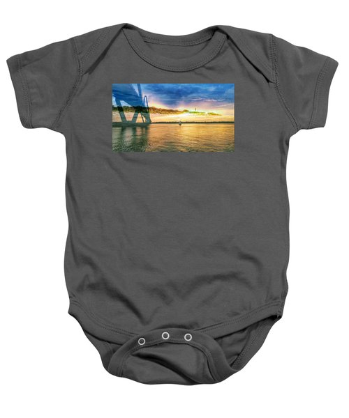 Charleston Harbor Sc Baby Onesie