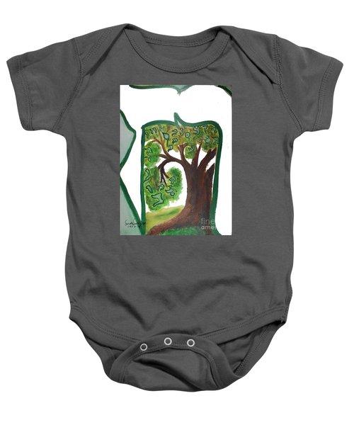 Chet, Tree Of Life  Ab21 Baby Onesie