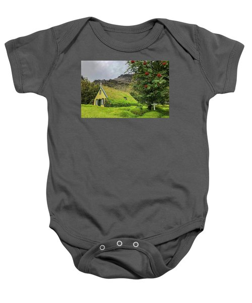 Church Of The Holy Moss Baby Onesie