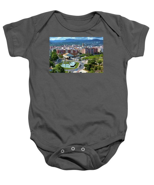 Cityscape In Reus, Spain Baby Onesie