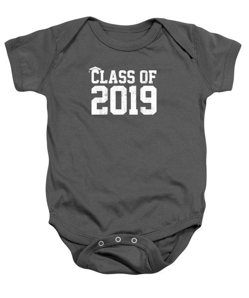 Class Of 2019 Graduation T-shirt Senior High School College Baby Onesie