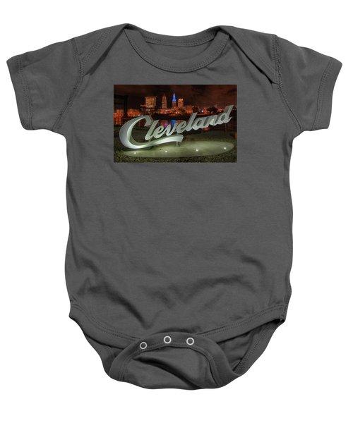 Cleveland Proud  Baby Onesie