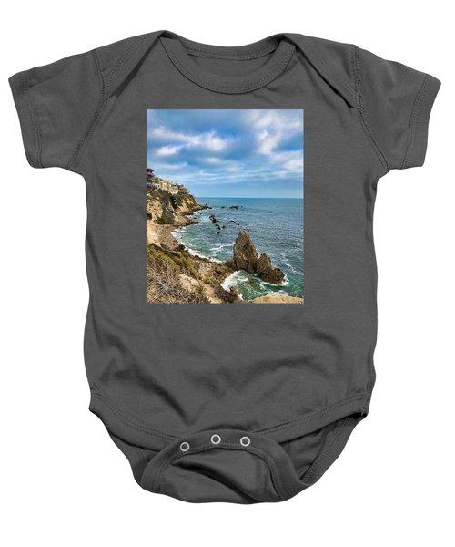 Cliffs Of Corona Del  Mar Baby Onesie