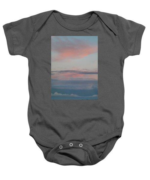 Clouds Over The Ocean Baby Onesie