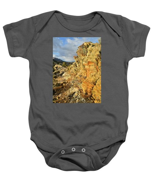 Colorful Entrance To Colorado National Monument Baby Onesie