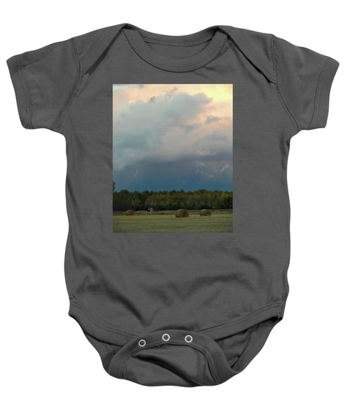 Colossak Country Clouds Baby Onesie