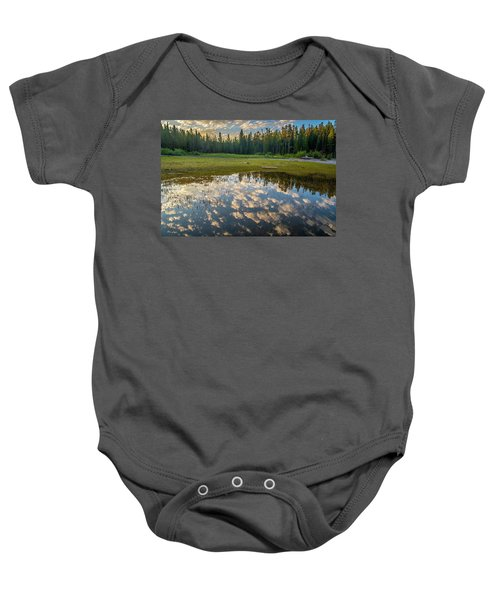 Colter Bay Reflections Baby Onesie