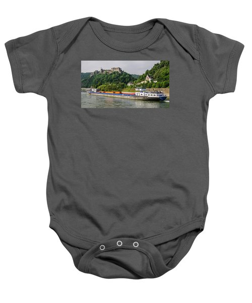 Commerce Along The Rhine Baby Onesie