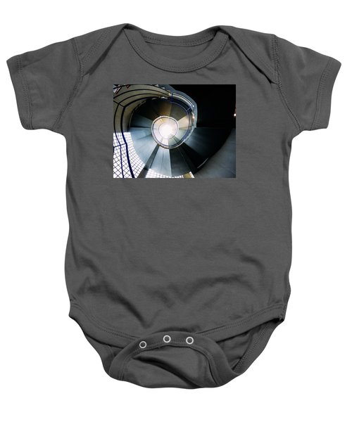 Convoluted Staircase  Baby Onesie