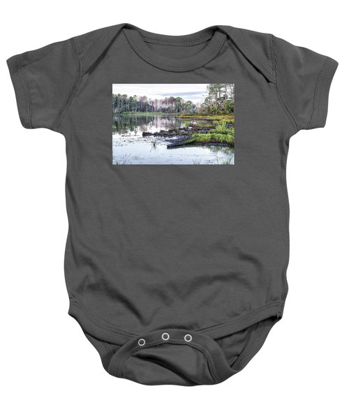 Coosaw - Early Morning Rice Field Baby Onesie