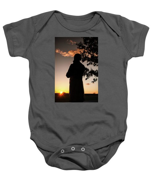 Corby At Sunset Baby Onesie